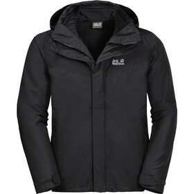Jack Wolfskin Arland 3In1 Jacket Men black